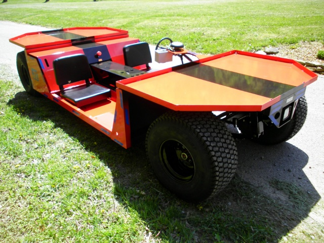 AC Super Trac Electric Mining Vehicle