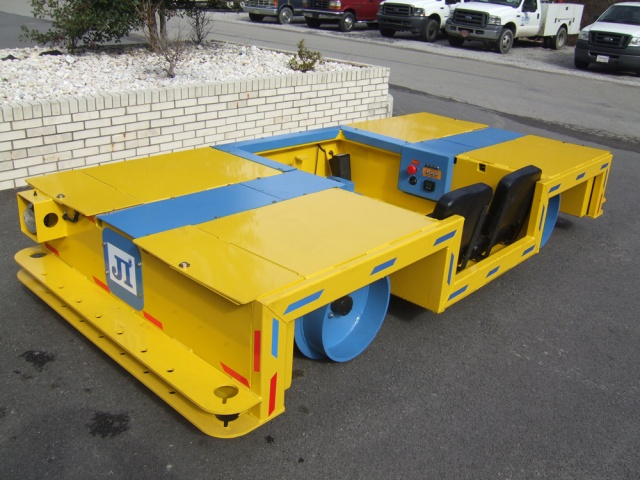 DC Rail Runner Electric Mining Vehicle