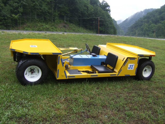 DC Super Trac - 2 to 3 Person Mantrip Electric Mining Vehicle
