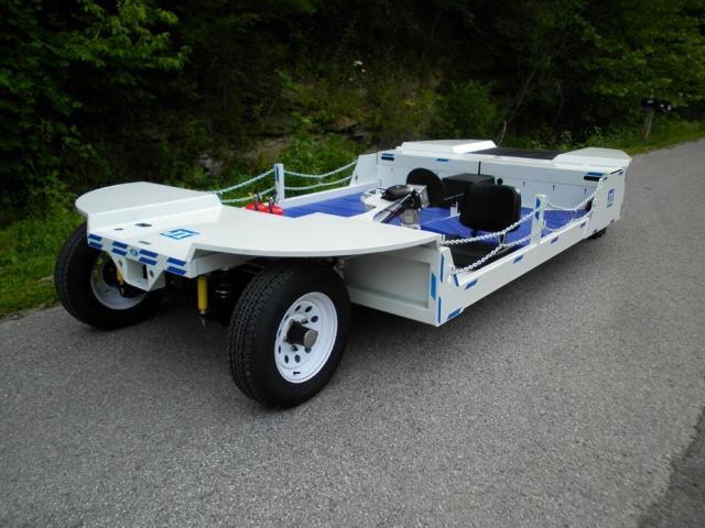 96 VOLT AC Mantrip - 12 Man Electric Mining Vehicle