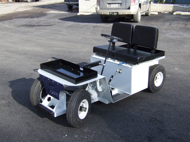 36V Scooter Burden Carrier Vehicles
